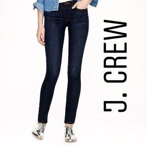 J. Crew Dark Wash Mid Rise Toothpick Jeans